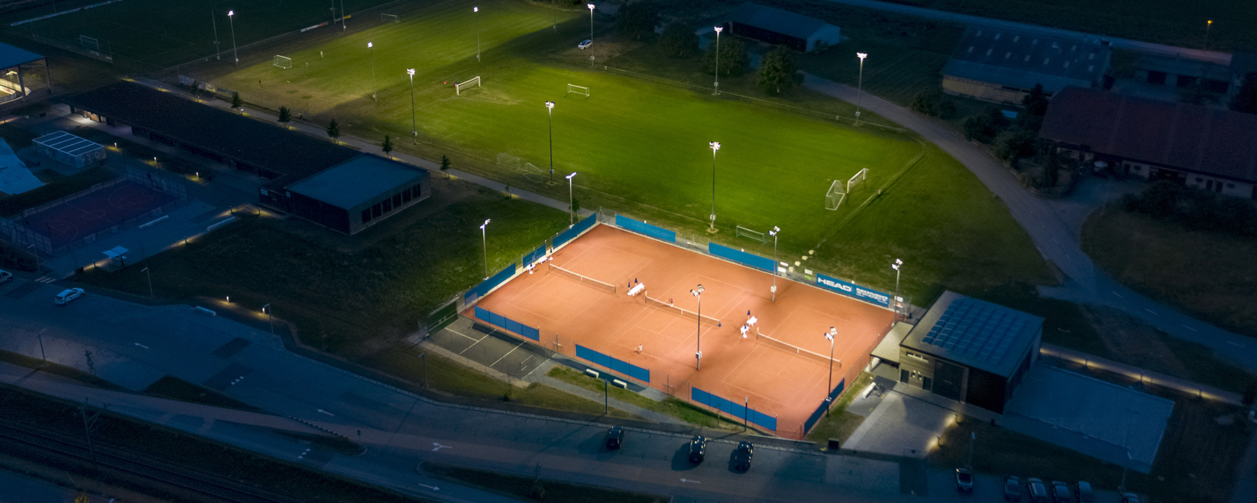 Schréder sports lighting solutions that reduce energy costs and light spill