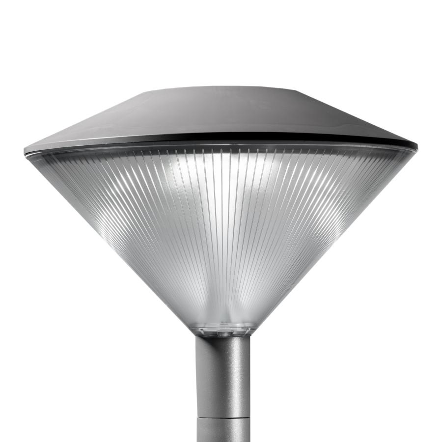 Friza is an outdoor LED lighting solution that dramatically reduces energy consumption and improves visual comfort.