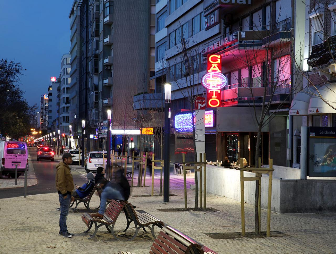 LED lighting systems can help improve the mobile experience in cities